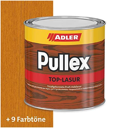 ADLER Pullex Top-Lasur - 5 L Lärche - Tropfgehemmte Holzlasur in Profi-Qualität für Holz außen - Lasur in verschiedenen Holzfarbtönen