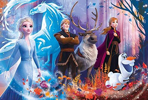Puzzle infantil de 100 piezas, diseño de Frozen 2 de Frozen