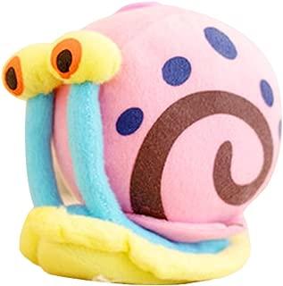 JAMOR Plush Toy Spongebob Plush Toy Doll Sucker Pendant Squidward Tentacles Gary the Snail Plankton Eugene H. Krabs (Gary the Snail)