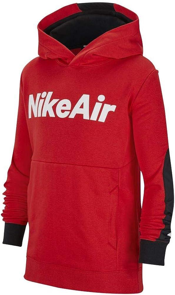 Nike,felpa per ragazzo,in 100% cotone CU9297-657