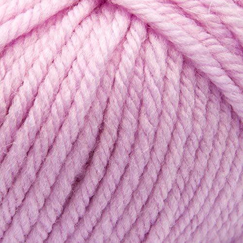 ggh Sportlife, Farbe:005 - Rosa, 100% Schurwolle, 50g Wolle als Knäuel, Lauflänge ca.80m, Verbrauch 600g, Nadelstärke 4-5, Wolle zum Stricken und Häkeln
