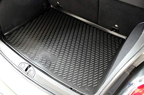 J&J Automotive - Alfombrilla de goma para maletero compatible con Fiat 500X 2014-pres