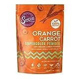 Suncore Foods – Organic Orange Carrot Supercolor Powder, 5oz – Natural Carrot Food Coloring Powder, Plant Based, Vegan, Gluten Free, Non-GMO