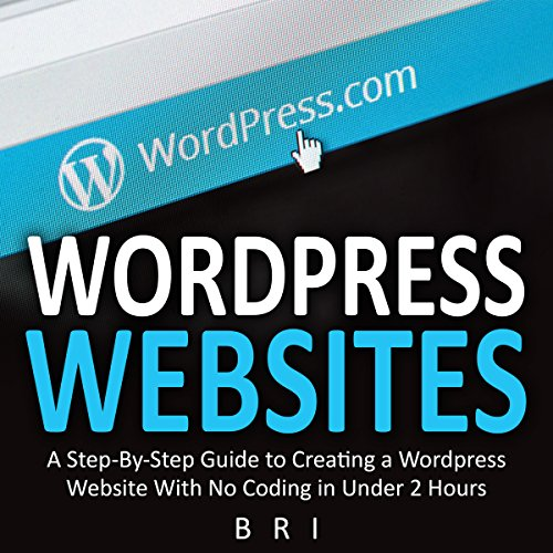 Wordpress Websites audiobook cover art