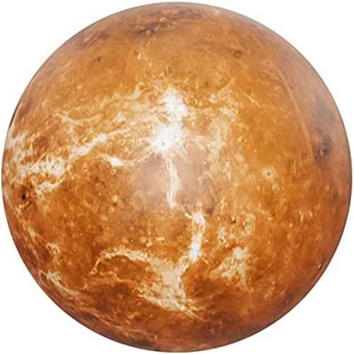 Startonight Glass Wall Art - The Venus Planet Round Decor - Acrylic Glass...