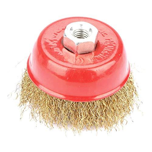Cepillo de la Taza de la Rueda de Alambre de Acero Pulido para la Herramienta Rotativa de la Amoladora
