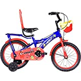Hero Kids Unisex Brat 16T Single Speed Bike (Blue, 5 to 6 Years)