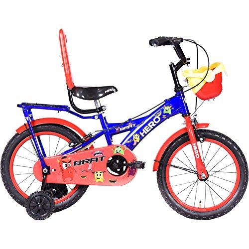 Hero Brat 16T Single Speed Kids' Bike (Blue, Ideal For : 5 to 6 Years...