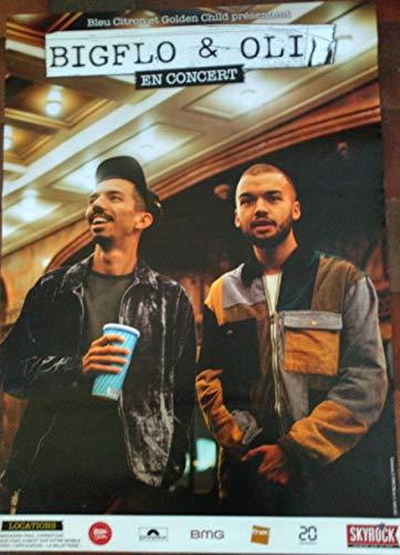 AFFICHE / Bigflo et Oli - en Concert 2019-80x120cm Poster