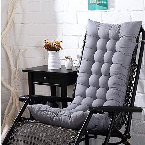 Cojines de silla de patio Cojín de interior al aire libre Terraza silla de respaldo alto Silla acolchada tapizado de la silla de salón del amortiguador del sofá para veranda interior al aire libre