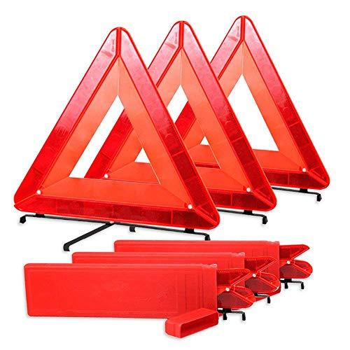 Intermitente Intermitente Plegable Triángulo LED Coche de Seguridad/Reflector...