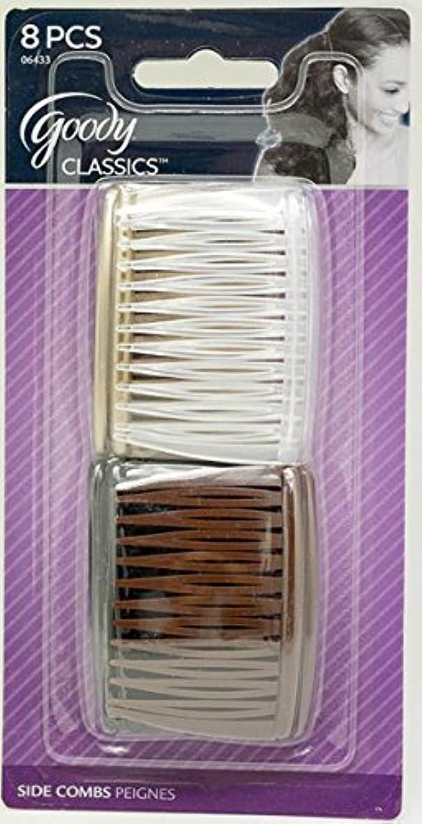 複合先駆者心のこもったGoody Women Classics Multi Pack Short Side Combs, 8 Count [並行輸入品]