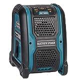 Wivarra Altavoz Reproductor de MP3 Altavoz USB Amplificador de 15 W para 14,4/18 V BateríA de Litio Enchufe de la UE