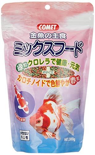 コメット 金魚の主食ミックスフード 300g