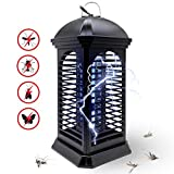 Electric Bug Zapper, Powerful Insect Killer, Mosquito Zappers, Mosquito Killer lamp, Light-Emitting Flying Insect Trap for Indoor