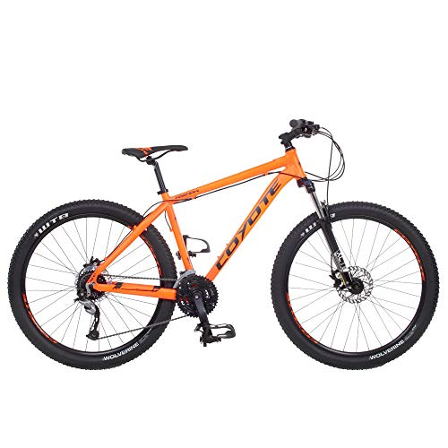 Galano Mountainbike 27,5 Zoll Hardtail MTB Fahrrad Abenaki 650B 27 Gang Bike (Coyote orange, 46 cm)