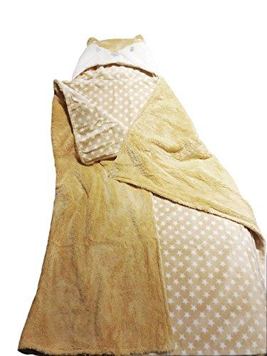 Baby Swaddle Wrap Deken Hooded Handdoek Leuke Eenhoorn Badjas met Hood Ultra Zachte Grote Maat voor Pasgeboren Peuter Baby Douche Verjaardagscadeau Vos