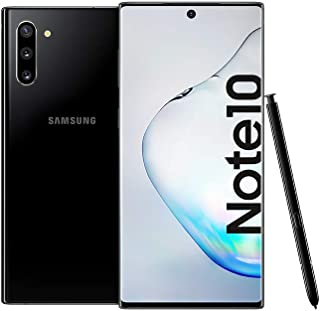 Samsung Galaxy Note 10 Dual SIM - 256GB, 8GB RAM, Dual SIM, Aura Black, UAE Version