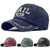 Dasongff Gorra de béisbol unisex de algodón, gorra de béisbol, gorra de béisbol, gorra de béisbol ajustable para el exterior, gorra de deporte, gorra de béisbol, gorra de viaje, ocio