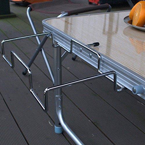yanbirdfx tragbarer Tisch-Hänge-Müllsack-Halter Müll-Aufbewahrung, für Camping und Reisen Multi