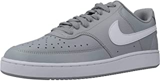 Nike COURT VISION LO, Men's Athletic & Outdoor Shoes, Grey (Lt Smoke Grey/White-Black)