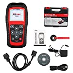 Autel MaxiTPMS TS501 TPMS Relearn Tool Automotive Scan Tool with Activate TPMS Sensors/TPMS Sensor Programming/Program… 16 【Upgraded Version of TS408, 2021 Newest】TS501 TPMS Tool can diagnose newest models up to 2020 with frequent updates. It packed ALL TPMS service options: TPMS programming(MX-Sensors), sensors Relearn/Activation, TPMS Reset and TPMS health diagnose, read sensor data, key fob frequency test. Please send VIN to : ❤Autelonline @outlook.com❤ CHECK COMPATIBILITY. 【TPMS Programming】 TS501 TPMS Programming Tool enables all car enthusiasts to program sensor data to Autel MX-Sensors with ease, saving you the money and trip to a dealership. With TS501, you can program AUTEL MX-Sensor (315/433MHz) with 4 programming options: Copy By Activation, Copy By Manual Input, Auto Create and Copy by OBD( Not available with TS408) to replace the faulty sensor with low battery life or one that is not functioning well. 【Relearn All TPMS Sensors】TS501 has added Relearn by OBD comparing with TS408. To turn off the TPMS warning light after replacement, you need to relearn the sensors to the vehicle! Autel TS501 TPMS Relearn Tool provides 3 ways of on-tool relearn precedures to relearn both OE and aftermarket sensors: Stationary Relearn, Automatic Relearn & OBD Relearn.