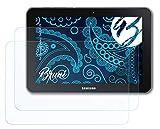 Bruni Schutzfolie kompatibel mit Samsung Galaxy Tab 8.9 LTE Folie, glasklare Bildschirmschutzfolie (2X)
