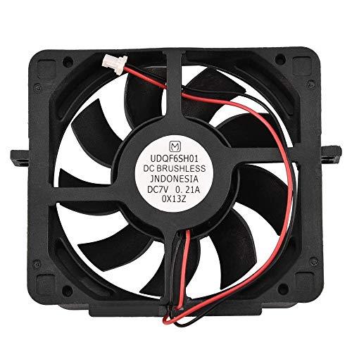 Kaxofang Ventilador de RefrigeracióN Refrigerador Interno Reemplazo Sin Escobillas CC para Consola 2 PS2 50000/30000