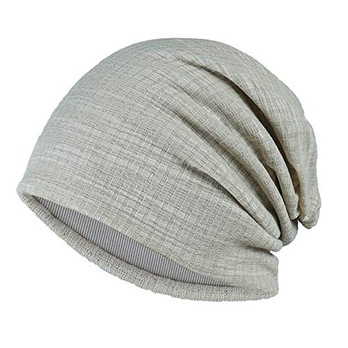 DDMCAP Beanie Mütze Beanies Frauen Herbst Turban Cap Casual Unisex Hip-Hop Einfarbig Strickmütze HüteFrauen Männer Winter Caps