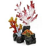 WYDMBH Decoración de Acuario Accesorios de decoración de Acuario Principal Resina Arrecife Plantas de Coralino Tanque de Pescado Paisajismo Exquisito Ornamentos Aquascape Decoración