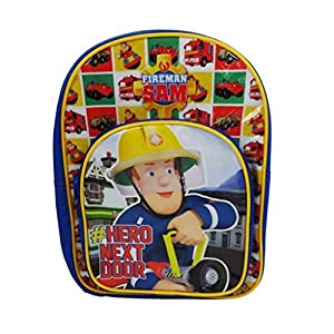 Fireman Sam Mochila Infantil, Multicolor SAM001044