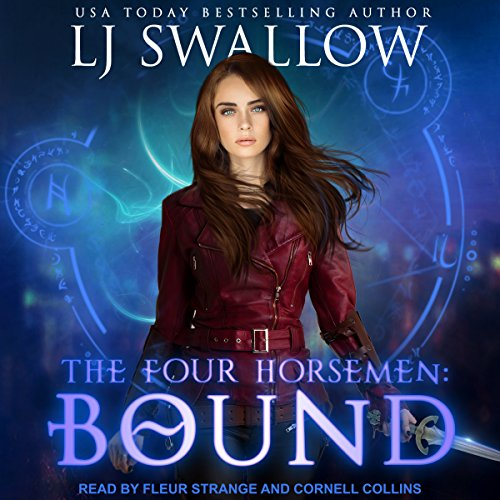 The Four Horsemen: Bound      Four Horsemen Series, Book 2              By:                                                                                                                                 LJ Swallow                               Narrated by:                                                                                                                                 Cornell Collins,                                                                                        Fleur Strange                      Length: 4 hrs and 4 mins     2 ratings     Overall 4.0