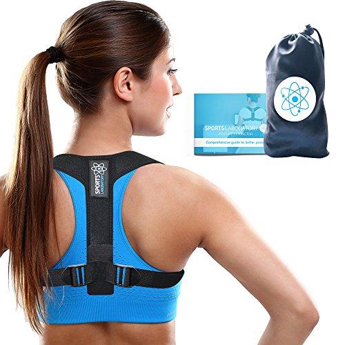 Sports Laboratory PRO+ Corrector de Postura Espalda y Hombro