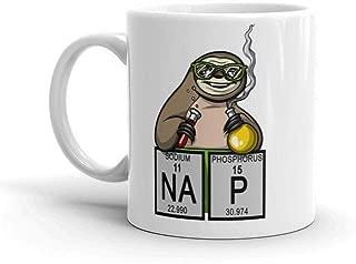 Nap Sloth Mug Chemistry Mug Science Mug Sloth Cup Teacher Mug Nerd Mug Geek Mug Chemistry
