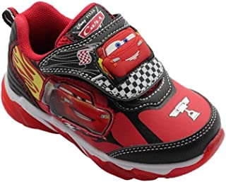Trendy Toddler Boys Car Athletic Shoe, Light Up (Size 7, 8, 9, 10, 11, 12)