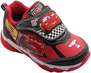 Toddler Boys Car Athletic Shoe, Light Up (Size 7, 8, 9, 10, 11, 12)