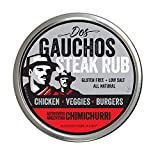 Dos Gauchos Chimichurri Steak Seasoning Rub and Premium Argentine Grilling Spices, All Nat...