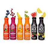 Whole Plant Juice Variety Pack, Immunity Booster and Energy Booster Cold Pressed Juice, Electrolyte Drinks with Natural Electrolyte,Overall wellness, 6 bottles, 12 fl oz - Karuna
