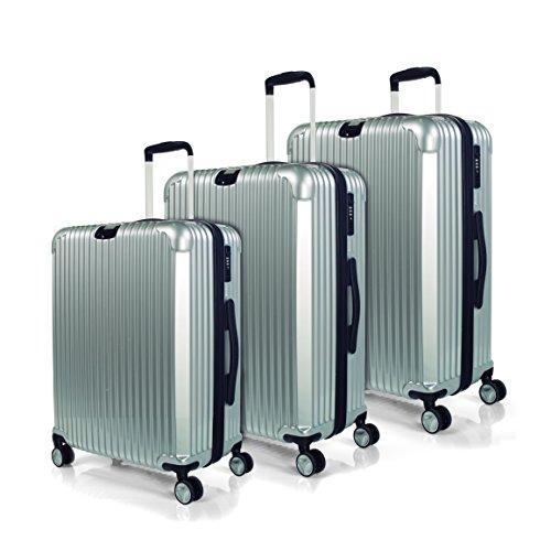 Jaslen , Set di valigie Argento Argento