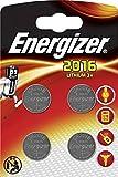 Energizer cr2016 piles bouton au lithium 3 V batterie – (lot de 4)