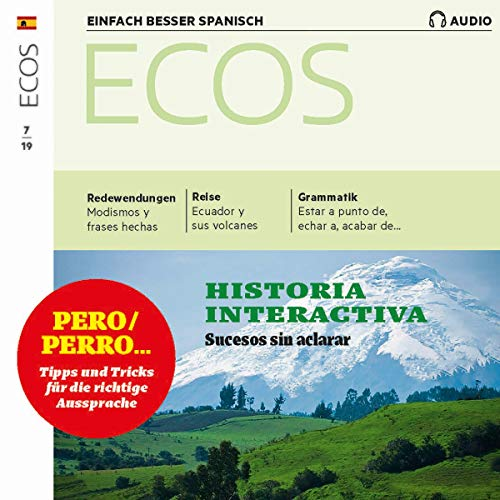 ECOS Audio - Narrar sucesos. 7/2019 cover art