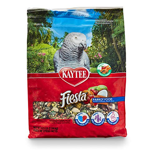 Kaytee Fiesta Parrot Food, 4.5 lb