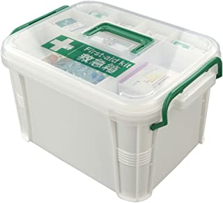 Nicesh Storage Box Organizer/Medicine Box/Family Emergency Kit Storage Box