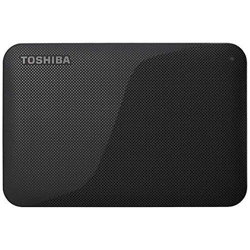 東芝 USB3.0接続 ポータブルハードディスク 1.0TB(ブラック)CANVIO BASICS(HD-ACシリーズ) HD-AC10TK