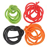 Weatlake 3 Feet/ 1M Archery Peep Sight Tubing Replacement Rubber Compound Bow 4 Colors (Orange)
