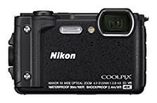 Nikon Coolpix W300 Digital Camera Schwarz(16 MP, 5x Optical Zoom/7.6 cm (3 Zoll) LCD Display, 4 K UHD Video, bildstabilisiert) © Amazon