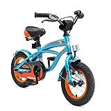 BIKESTAR Kinderfahrrad für Jungen ab 3-4 Jahre | 12 Zoll Kinderrad Cruiser | Fahrrad für Kinder Blau | Risikofrei Testen