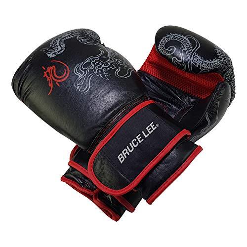 Tunturi 14BLSBO002 Guantes Boxeo Dragon Bruce Lee, Unisex Ad