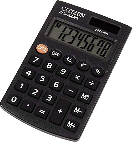 Calculadora de bolsillo Citizen SLD-200NR