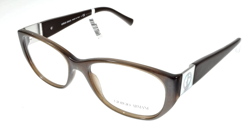 Eyeglasses Giorgio Armani 7016H Brown Cateye
